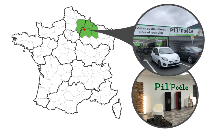 Visitez notre magasin Pil'Poêle à Cormontreuil (51)
